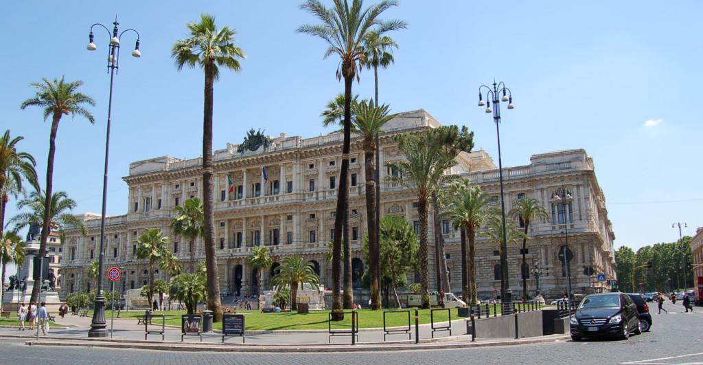 Veduta del Palazzo di Giustizia dallo Studio Legale Di Ciommo & Partners a Roma